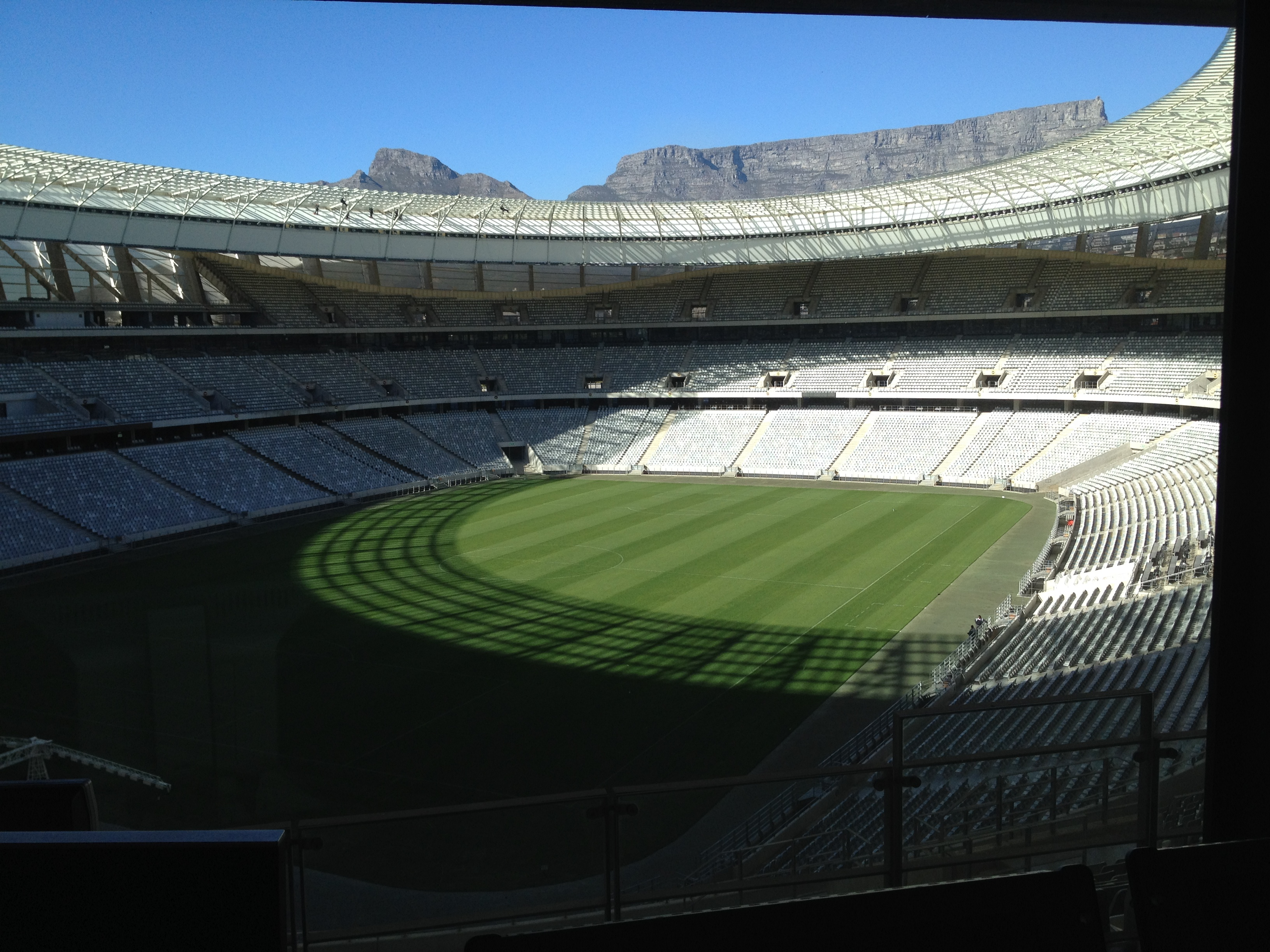 Variable Message Sign project for Cape Town Stadium