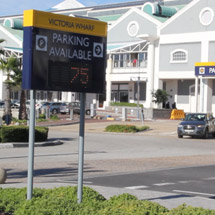 Glance Parking Guidance System for V&A Waterfront in Cape Town