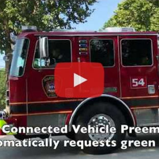 Video: See the Marietta Connected Vehicle Preemption & Priority System in Action