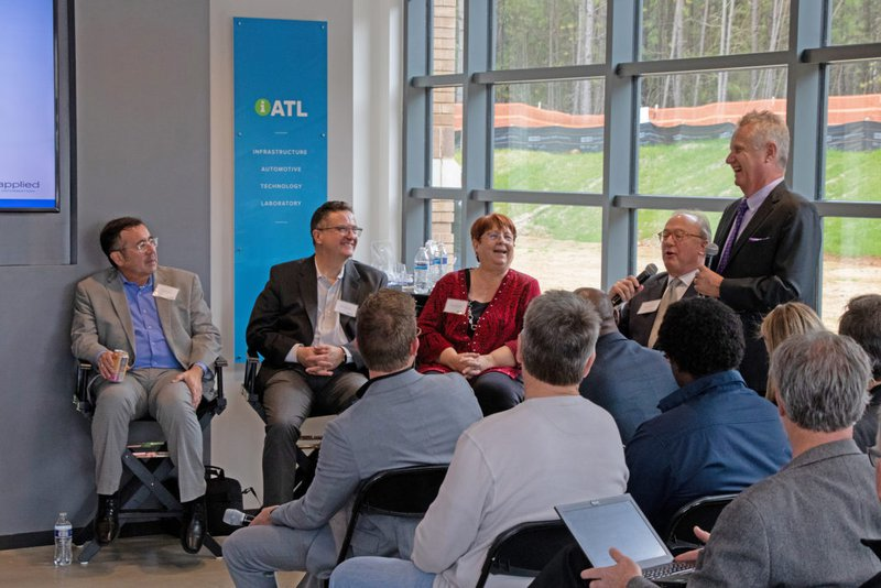 Smart City officials at the iATL